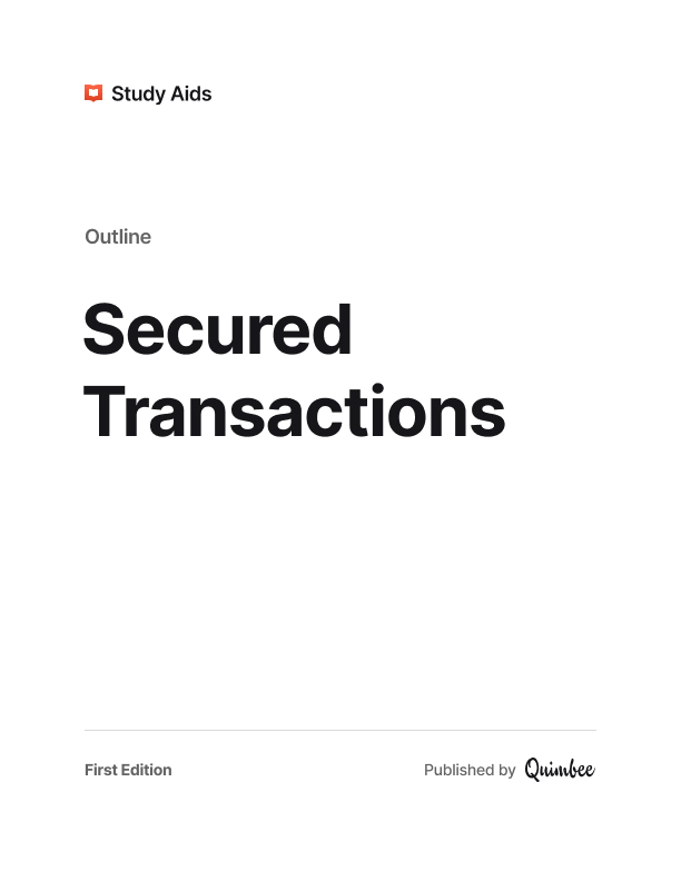 Secured Transactions image
